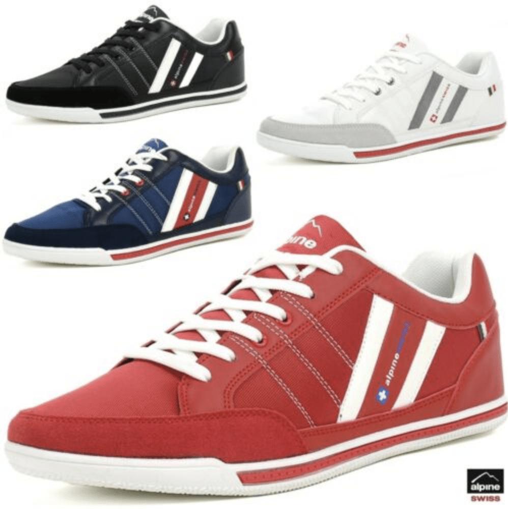 $19.99 Alpine Swiss Stefan Mens Retro Fashion Sneakers
