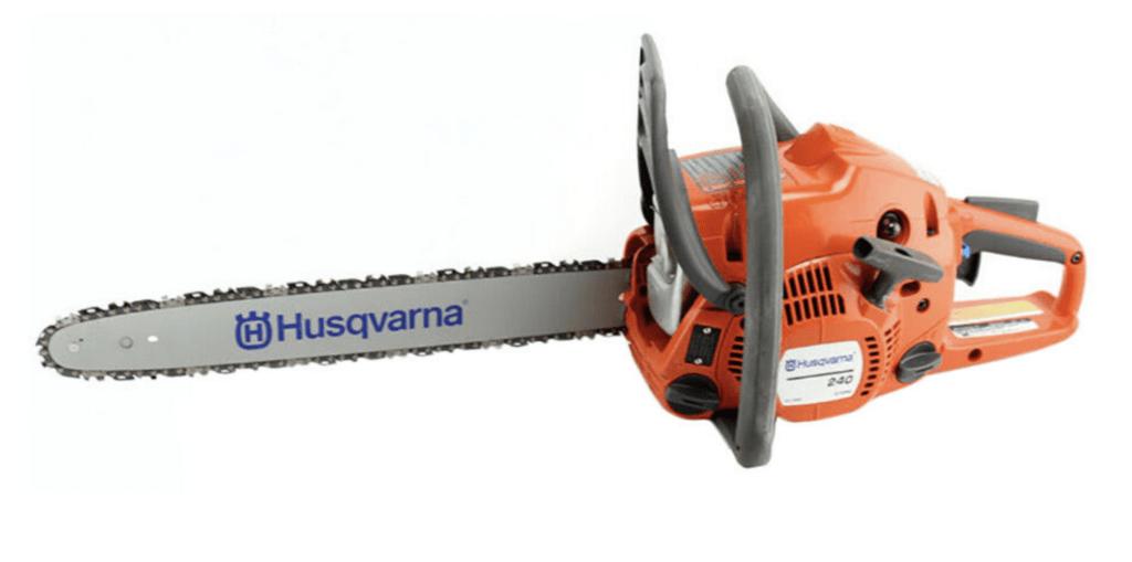 $119.99 (40% off) Husqvarna 240 14 Inch Bar 38.2 cc 2 Cycle Gas Chainsaw (Certified Refurbished)