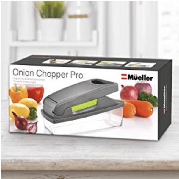 Mueller Onion Chopper Pro Vegetable Chopper Review - gift