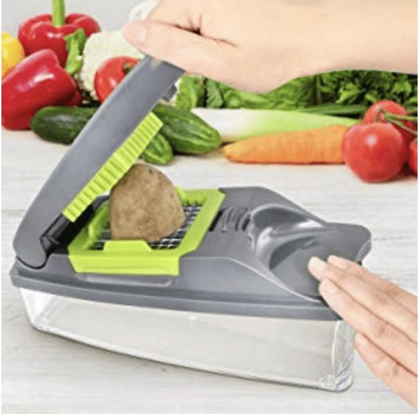 Mueller Onion Chopper Pro Vegetable Chopper Review - tips