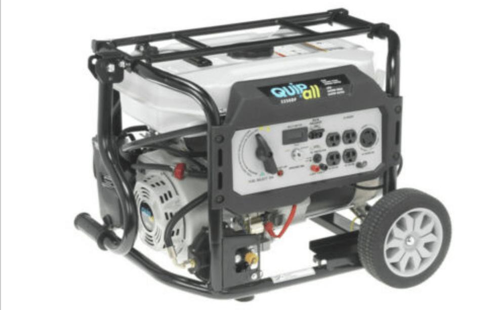 Quipall Dual Fuel Portable Generator